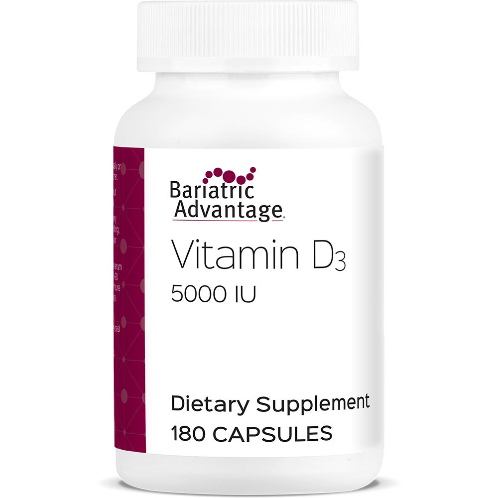 Vitamin D Capsule 5000 Iu Bariatric Advantage Inc