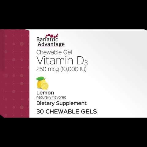 Vitamin D Gels 10,000 IU